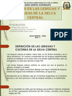 Cambios en Las Lenguas y Culturas