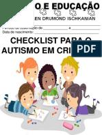 Check List do Autismo