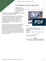 Bloqueo Económico de Estados Unidos Contra Cuba - EcuRed