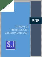 Manual Preselección Selección