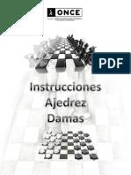 instrucciones ajedrez -damas