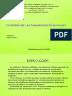 Corrosión en Estructuras Metalicasmicrosoft Powerpoint
