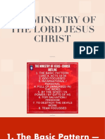 The Ministry of the Lord Jesus Christ Section 1_2 A