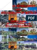 Lecture - Welding Metallurgy and Weldability of Metals