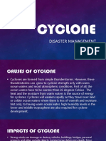 Cyclone Disaster Management