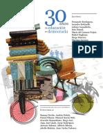 UNIPE - 30 Años de Educación en Democracia