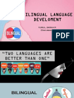 Bilingual Language Development