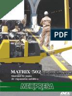 Junta-Asfaltica MATRIX 502