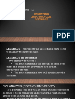 OPERATING   AND FINANCIAL LEVERAGE.pptx