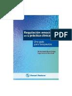 Regulación Emocional en La Practica Clinica