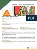 Enseñanza de español como lengua extranjera
