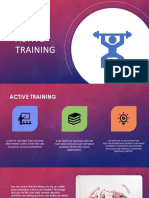 Active Training Presentation