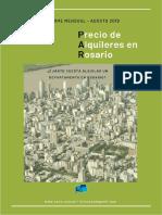 Informe Alquileres Rosario - Agosto 2019