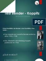 Ppt Presentacion Test Bender - Koppitzz
