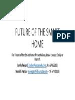June 21_Theatre 1_Future of Smart Home (IDC Canada)