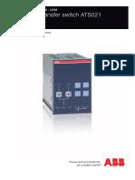 ABB ATS201 manual