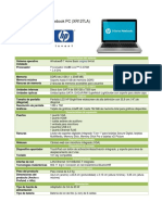 Hp g42-364la Notebook Pc