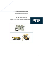 Manual de Usuario RTX ACTA
