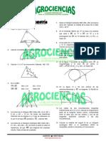 PROBLEMAS DE GEOMETRIA DE LA UNIVERSIDAD AGRARIA