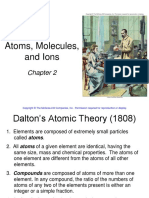 Chapter 2 Atoms Molecules and Ions