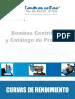Bombas Comerciales Con Curvas de Operación