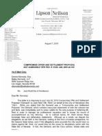 Reid Response to COH Demand Letter