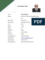 Revised - Curriculum Vitae - 01302019