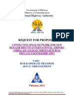 CONNECTING ROAD NETWORK FOR NEW BENAZIR BHUTTO INTERNATIONAL AIRPORT (NBBIA) ISLAMABAD THROUGH PUBLIC PRIVATE PARTNERSHIP (PPP)