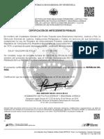Antecedentes Penales Zulay