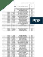 Auditoria Resultados Patologías Junio 2019