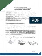 Acta de Compromiso Institucional SCI 2017