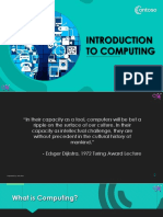 CC 101 - 01 Introduction to Computing