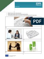 A Job Interview Learner Worksheets