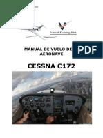 Manual de Vuelo Cessna 172.