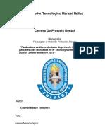 Monografia PRÓTESIS DENTAL FIJA