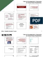 2014 Examen Mental y Patologias