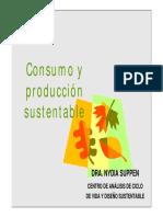 Consumo y producción sustentable