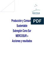Avances PCS Mercosur