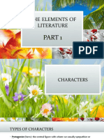 The Elements of Literature 1