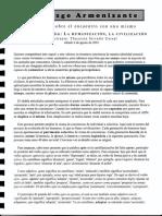 La Humanización, La Civilización. 02 Liderazgo Armonizante. Tlacatzin Stivalet