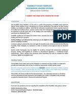 Feasibilty study seminar template