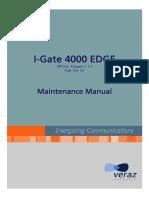 iGate 400 Maintenance Manual