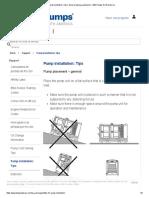 Pump Installation_