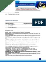 SMAW UC 1  Info sheet
