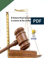 El sistema Penal Acusatorio y la Justicia de Paz en Panamá