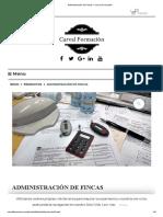 Administración de Fincas – Carval Formación
