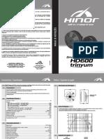 Manual Driver Hd600 Cod 50826 03