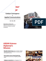 Asean Science Delegates Assembly RHirsch PPT Presentation 25April