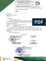 Surat Pemberitahuan Finalis Universitas Sriwijaya