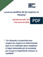Situacion Politica de las Mujeres en Panama